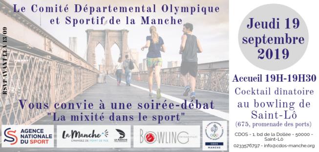 Soirée Mixité et Sport - 19/09/2019