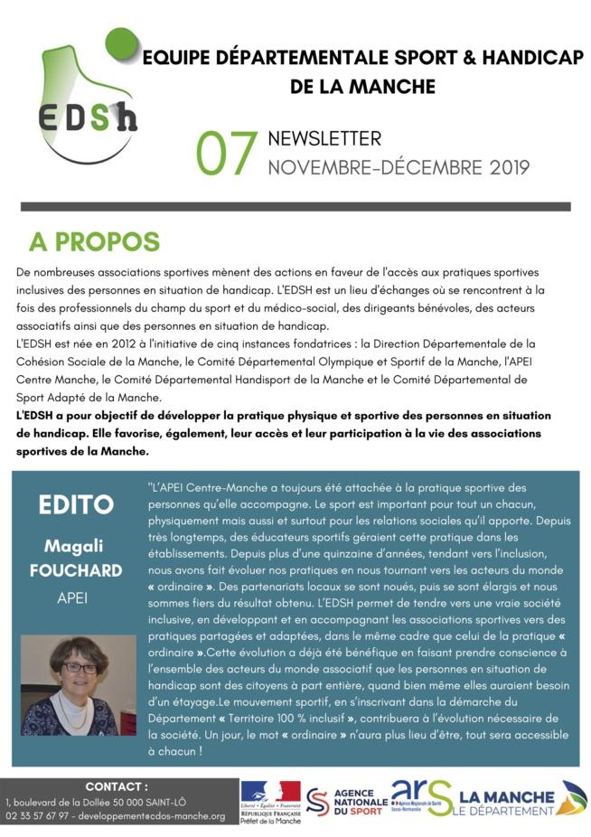 Newsletter EDSH n°7