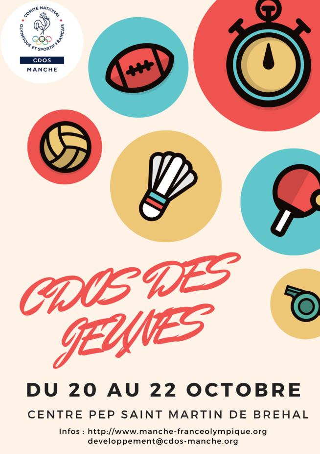 CDOS des jeunes - 14/15/16 avril 2020 - ANNULATION/REPORT