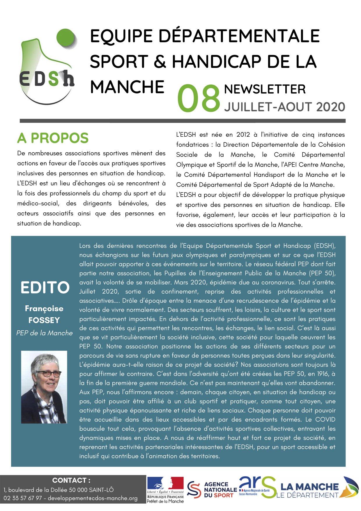 Newsletter EDSH n°8